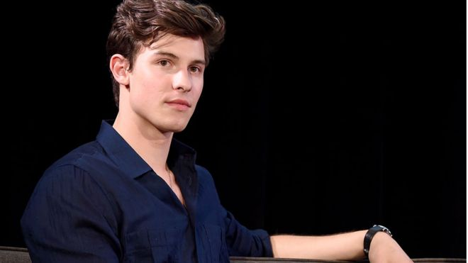 Şarkıcı Shawn Mendes