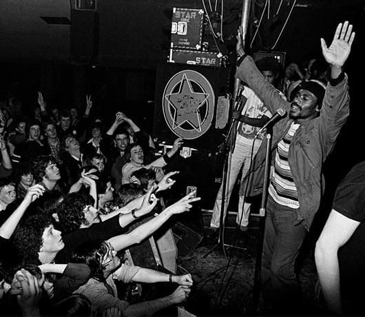 Rock Against Racism gig - Syd Shelton